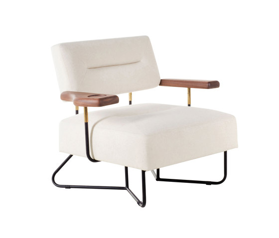 QT Chair with Cupholder by Stellar Works | Armchairs
