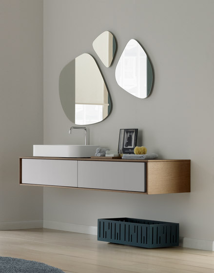 Stone shape mirrors by CODIS BATH | Wall mirrors