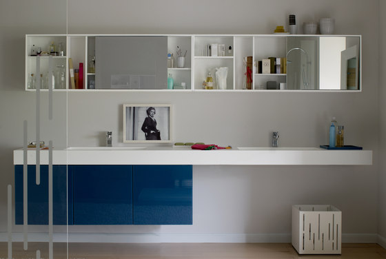 Sliding mirror by CODIS BATH | Mirror cabinets