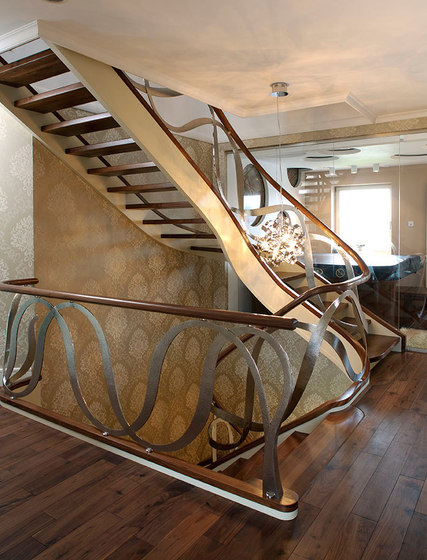dubai by siller treppen product. Black Bedroom Furniture Sets. Home Design Ideas