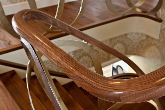 Dubai by Siller Treppen | Wood stairs
