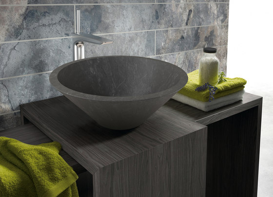 Conico negro lavabo de CODIS BATH | Lavabos