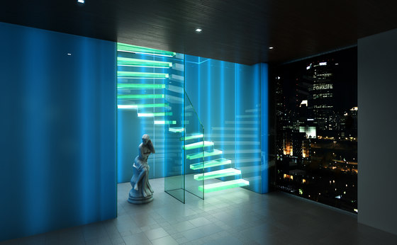 Ghost by Siller Treppen | Glass stairs