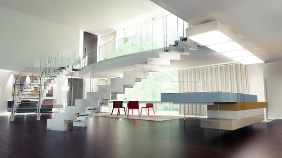 Cobra glass by Siller Treppen | Staircase systems