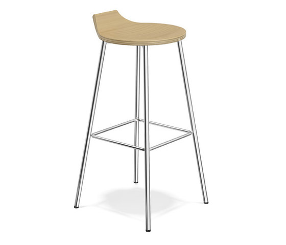 Ravelle III 1536/07 by Casala | Bar stools