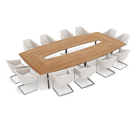 Temo Extented 6910 by Casala | Conference table systems