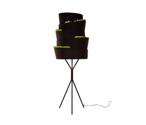 Babilonia Floor lamp de Verde Profilo | Éclairage général