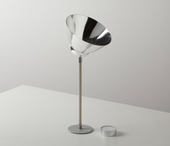 VLAMP large by jacob de baan | Candlesticks / Candleholder