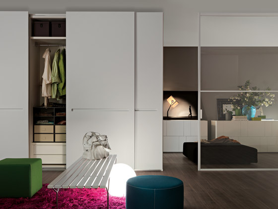 Armadio al Centimetro | Sliding by LEMA | Built-in cupboards