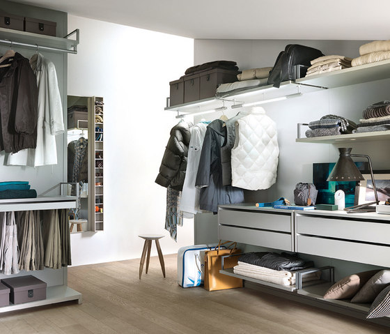 Novenove by LEMA | Walk-in wardrobes