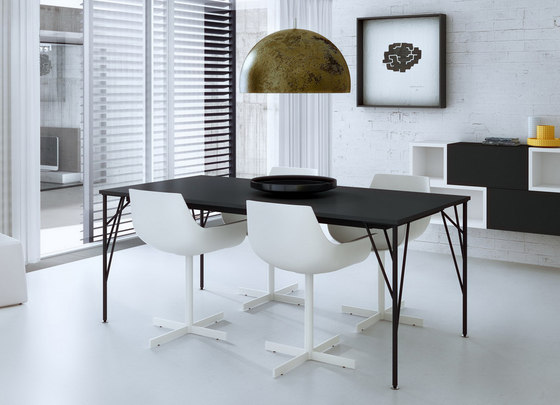 Feel dining table by ARLEX design | Dining tables