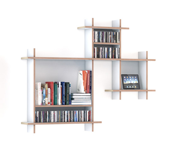 QR W-NA Shelf by OLIVER CONRAD | Office shelving systems