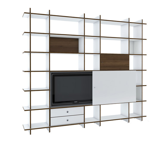 QR W-NB Shelf by OLIVER CONRAD | Office shelving systems