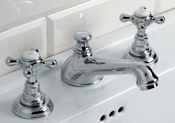 Austin Grupo grifones lavabo 3 huecos de Devon&Devon   Grifería para lavabos