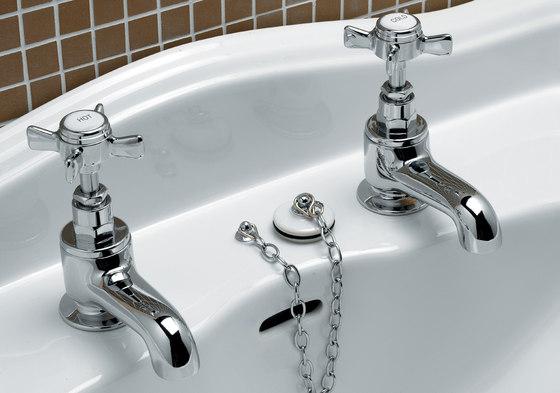 Coventry Basin pillar taps by Devon&Devon   Wash-basin taps