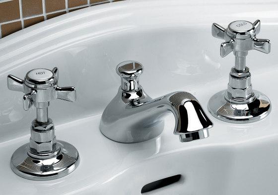 Coventry 3 hole basin set by Devon&Devon | Wash basin taps
