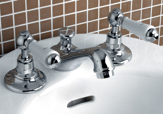 Dandy 3 hole bidet set by Devon&Devon | Wash-basin taps