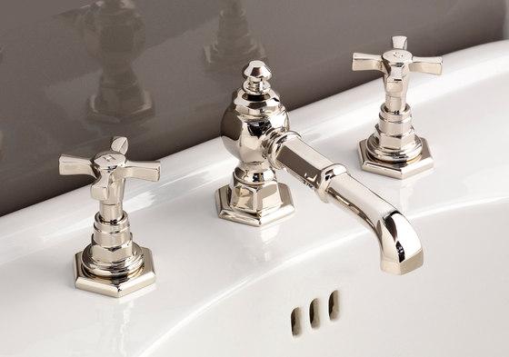 Jubilee Grupo grifones lavabo 3 huecos de Devon&Devon | Grifería para lavabos