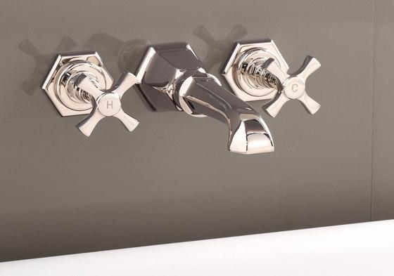 Jubilee Grupo grifones para montaje a pared de Devon&Devon | Grifería para bañeras