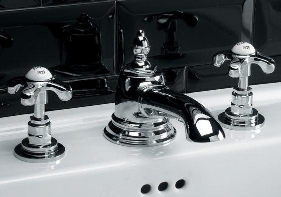 Mayfair Grupo grifones lavabo 3 huecos de Devon&Devon   Grifería para lavabos