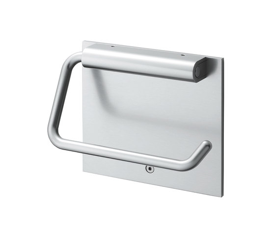 Agaho S-line Toilet Paper Holder 43M by WEST inx | Paper roll holders