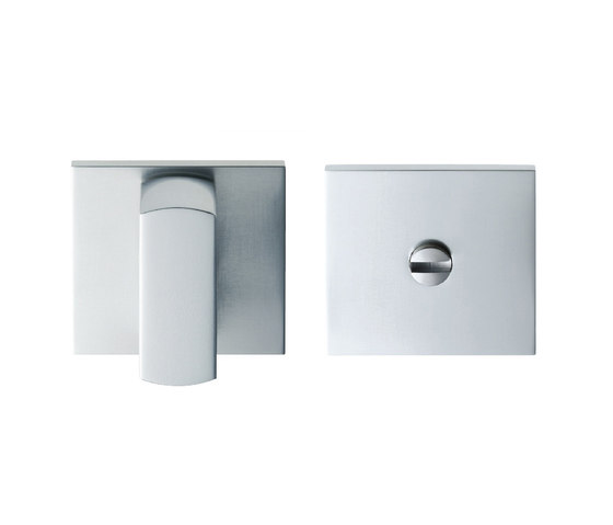 Agaho S-line Escutcheon 951S by WEST inx | Bath door fittings
