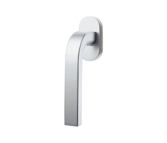 Agaho S-line A3 Handle 214W-O by WEST | Lever window handles