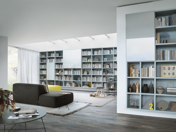 Selecta by LEMA | Library shelving