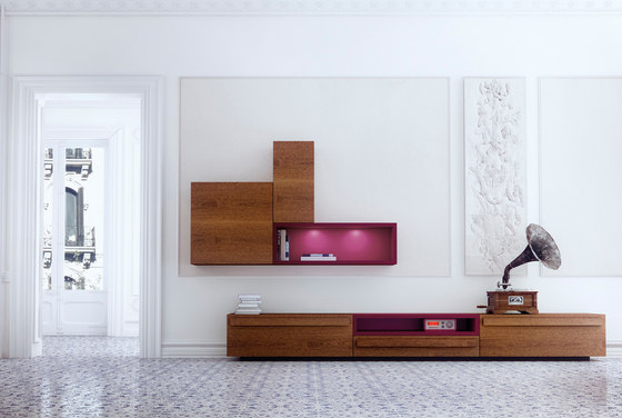 Praq-tik by ARLEX design | Wall storage systems