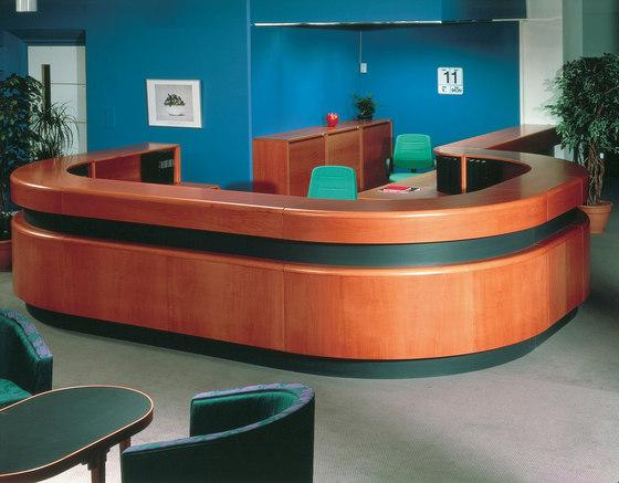 EFG Team Reception 3 by EFG | Reception desks