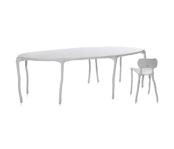 Clay Big dining table multileg