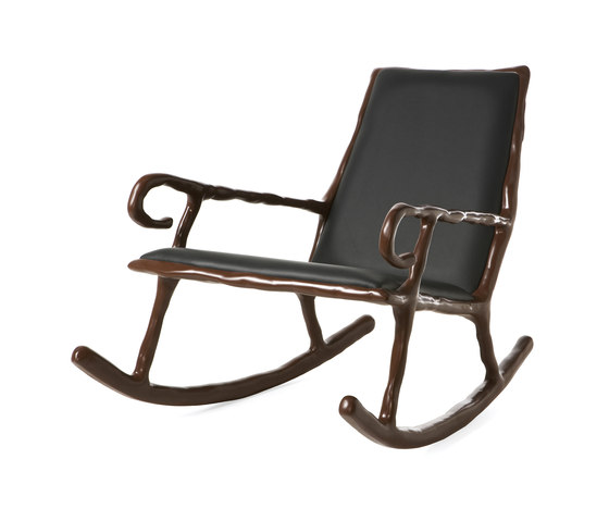 Clay Low rocking chair di DHPH | Poltrone