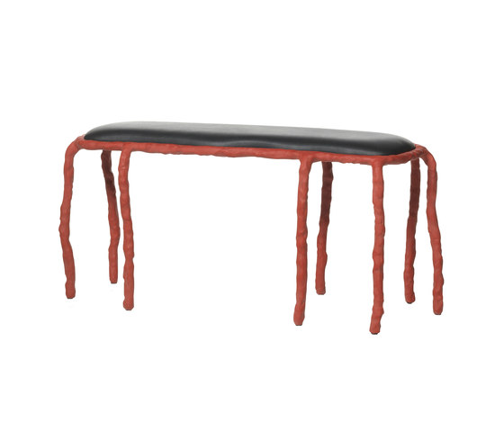 Plain Clay Bench by DHPH | Counter stools
