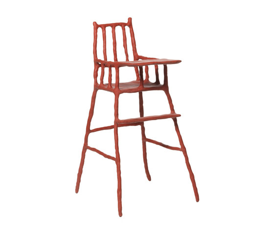 Plain Clay Childrens High Chair di DHPH | Seggioloni