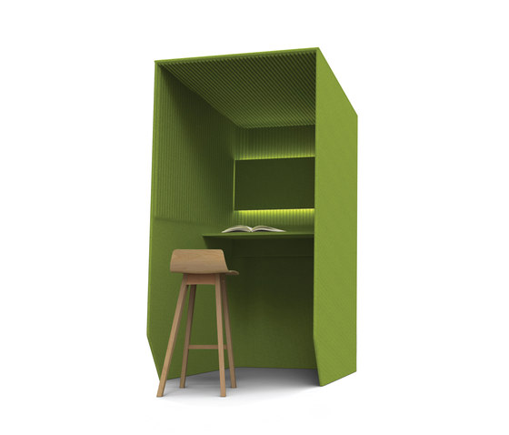 BuzziBooth Standing by BuzziSpace | Hotdesking / temporary workspaces