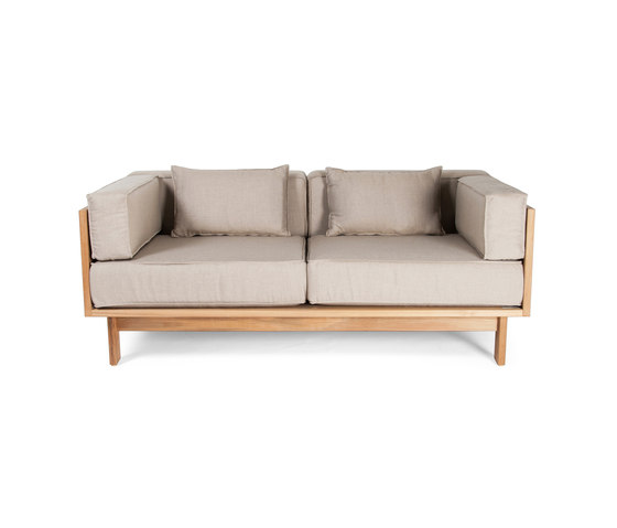 Falsterbo two seater sofa by Skargaarden | Garden sofas