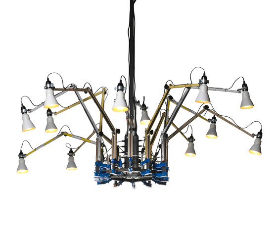 Tools Chandelier 'Dear Ron' by DHPH | Ceiling suspended chandeliers