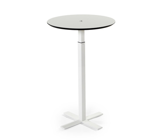 One Column Frame by Swedstyle | Standing meeting tables