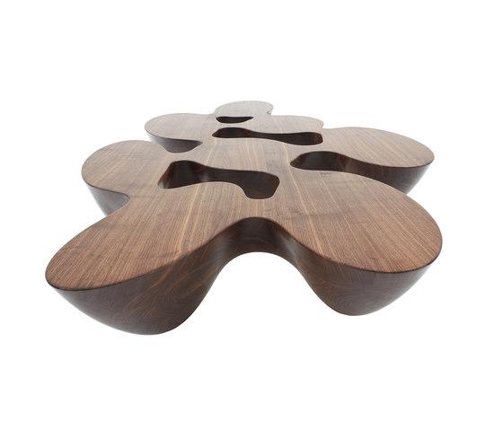 Quark | wood by Emmanuel Babled | Lounge tables