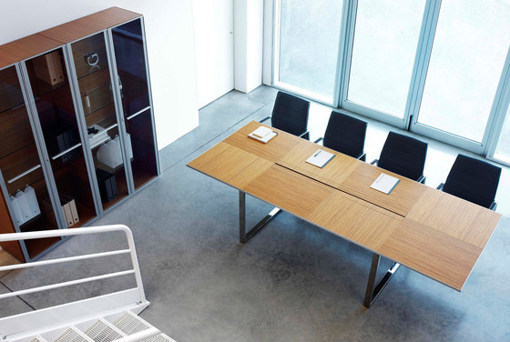 Aplomb meeting table by Faram   Contract tables