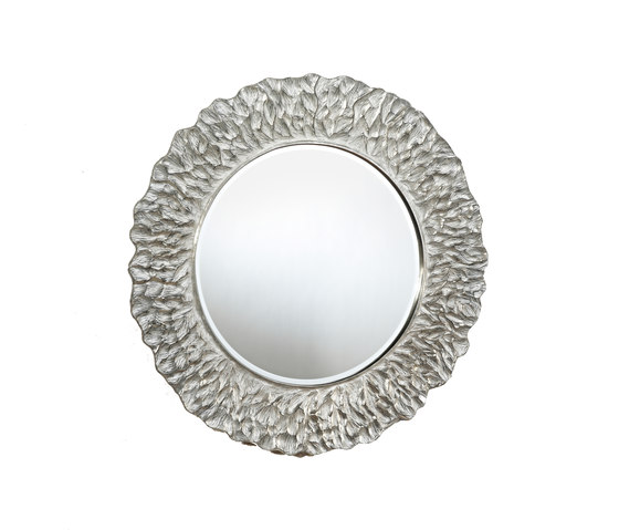 Flora silver by Deknudt Mirrors | Mirrors
