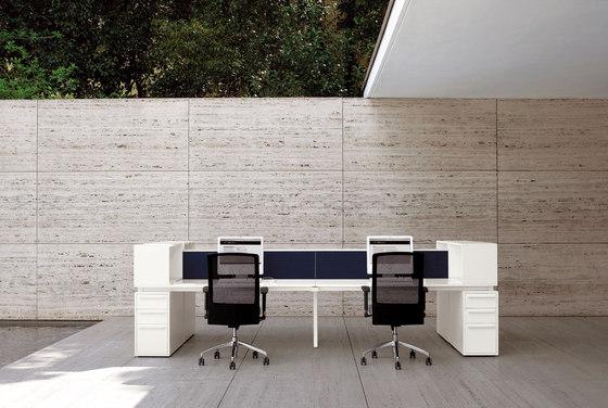 Cartesio Workstation by Faram | Desks