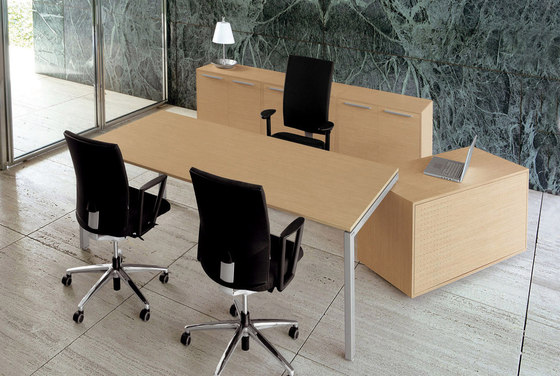Cartesio desk by Faram 1957 S.p.A. | Individual desks