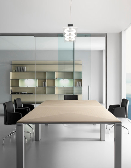FD205 meeting table by Faram 1957 S.p.A. | Meeting room tables