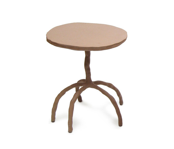 Plain Clay Side table by DHPH   Side tables