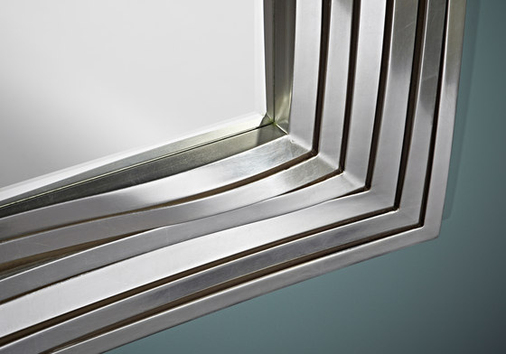 Topo Silver by Deknudt Mirrors | Mirrors