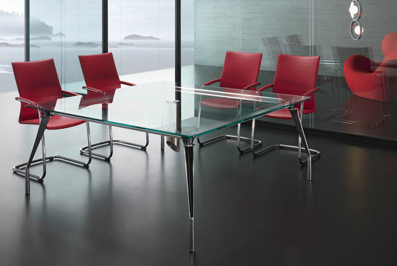 Dinamico meeting table by ARLEX design | Meeting room tables