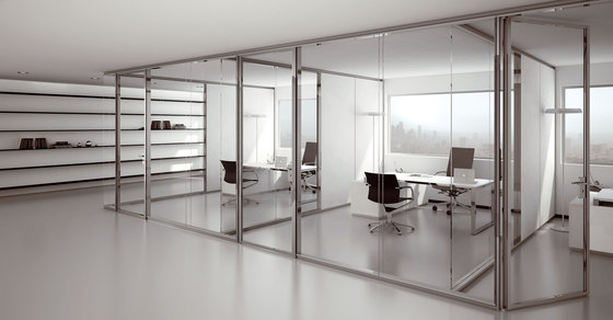 P900 dividing wall by Faram | Wall partition systems