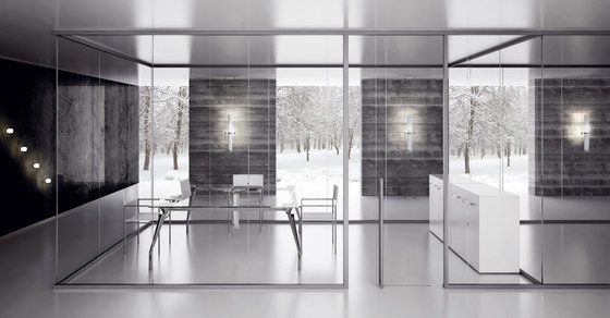 P600s dividing wall by Faram 1957 S.p.A. | Partitions