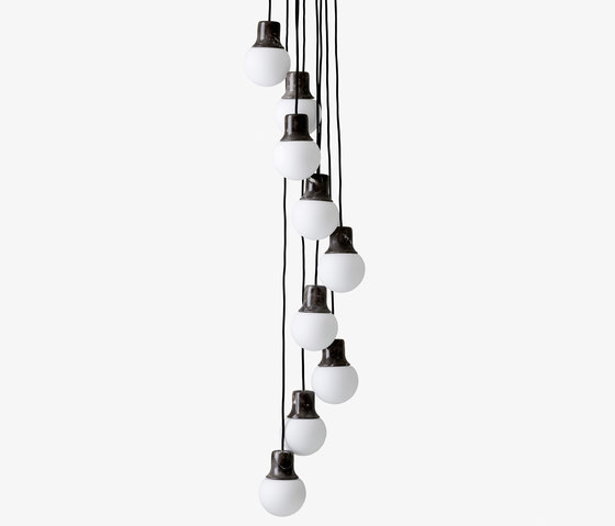 Mass Light NA6 chandelier marble di &TRADITION | Illuminazione generale